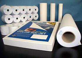carta per fotocopie e rotoli per il plotter